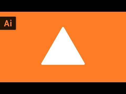 How to Make a Triangle | Illustrator Tutorial