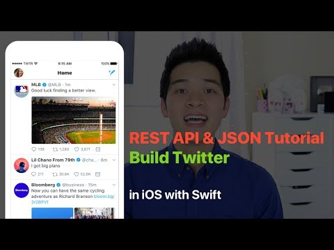 Build Twitter with REST API and JSON (Search and Fetch New Tweets from Twitter)