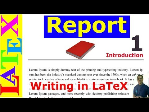 A Complete Report Writing in LaTeX (Latex Tutorial, Episode-31)