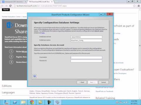 SharePoint 2013 Installation and configuration in Windows Server 2012 by Raja Krishna