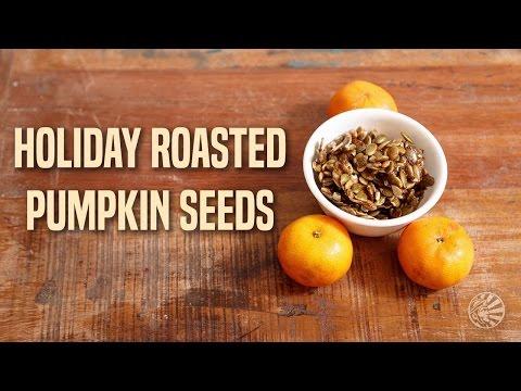 Roasted Pumpkin Seeds Recipe | Sunwarrior