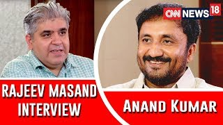 Anand Kumar interview with Rajeev Masand I Super 30 I Hrithik Roshan