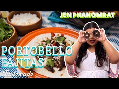 Portobello Fajitas | Good times with Jen