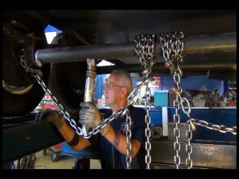 Trailer Axle Straightening and/or Wheel Alignment