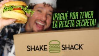 Preparé mi propia hamburguesa de SHAKE SHACK | Receta secreta 🍔