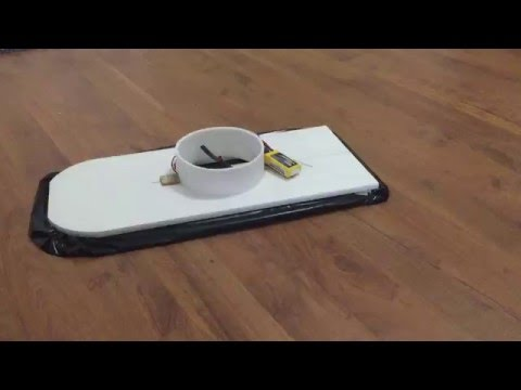 Hovercraft hover test