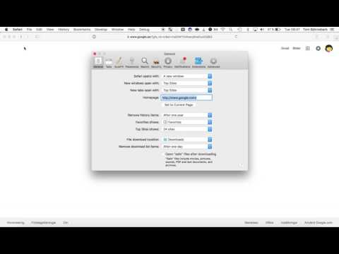 Safari - How to change your default search engine to google - To the point instructions