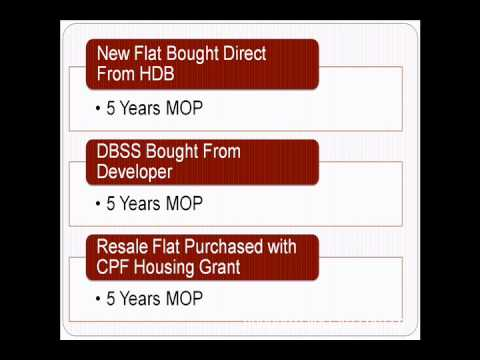 HDB Resale Eligibility | When can i sell my HDB flat