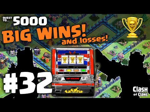 Huge Trophy Wins - and Losses ♦ Clash of Clans Quest to 5000 #32  ♦ CoC ♦
