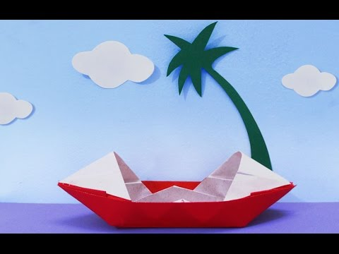 Fun Crafts for Kids : How to Make a Paper Boat | Origami Boat | Kids Activities