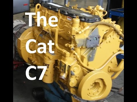 The Cat C7 Engine.  Facts, Walk Around, Sensor Locations, and Maintenance.  Know Your Engine.