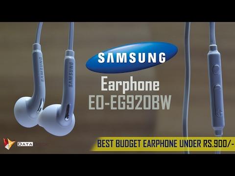 Best Budget Samsung Earphone | Model No. EO-EG920BW | Data Dock