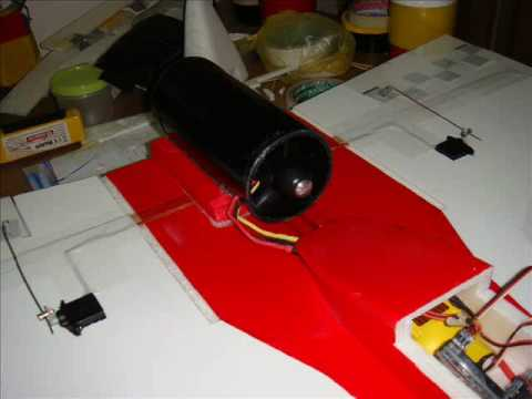 RC Plane Scratch Build EDF Jet + Maiden