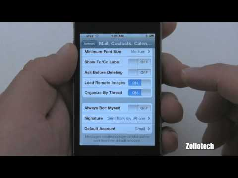 iPhone 4 Tips - Email