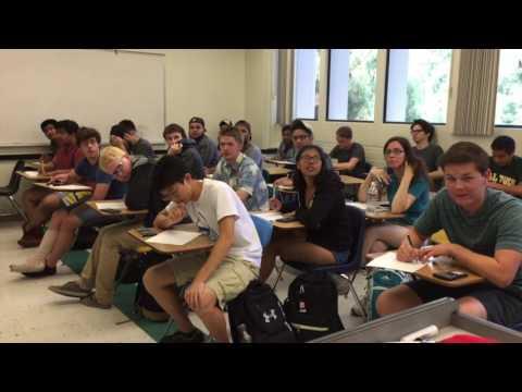 Teacher Pranks Math Class