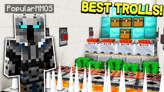1,000 WAYS TO TROLL A YOUTUBER! (Minecraft Trolling)
