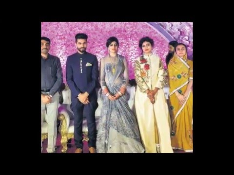 Ravindra jadeja-Rivaba solanki marriage reception