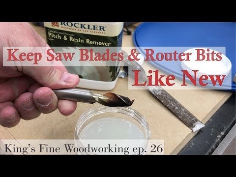 26 - How to Optimize Performance of Saw Blades and Router Bits