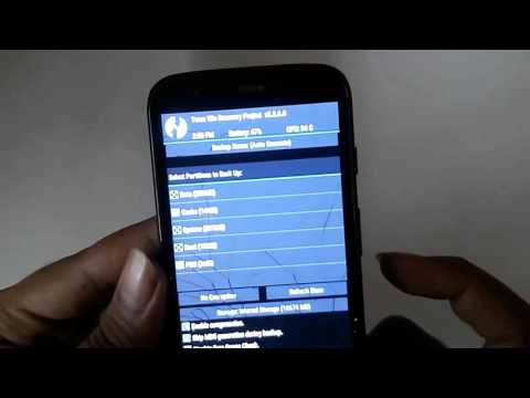 How to use TWRP Recovery