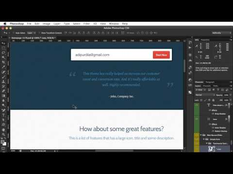 PSD to HTML - Lesson 6