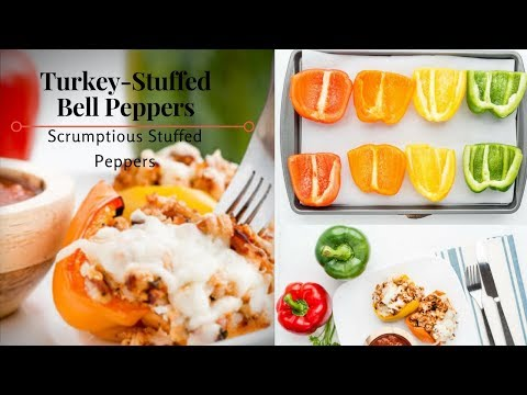 Turkey Stuffed Bell Peppers Scrumptious Stuffed Peppers
