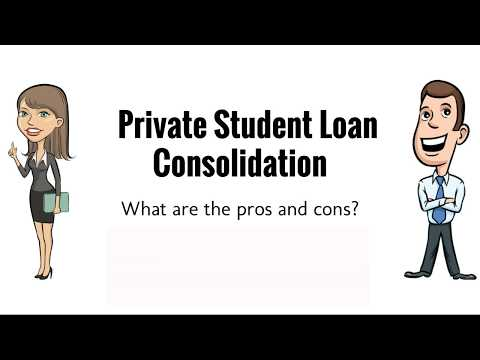 Private Student Loan Consolidation | Pros and Cons