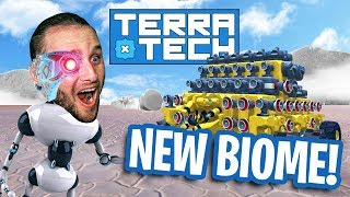 THIS NEW BIOME MAKES ME SALTY!!! - TerraTech #10