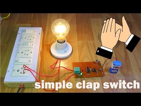 simple clap control home-automation.....