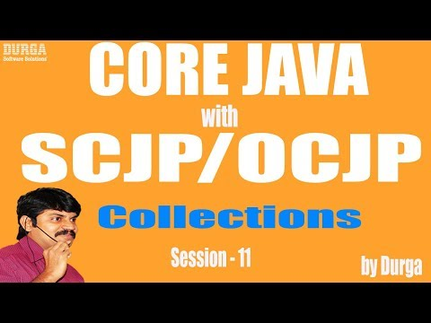 Core Java With OCJP/SCJP: Collections Part-11 || Map || Hashmap || linked Hashmap