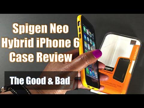 Spigen Neo Hybrid iPhone 6 Case Review - 2016!