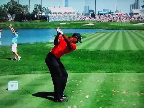 Tiger Woods -- 181 Yard 8-Iron -- Ultra Slow Motion (2013)