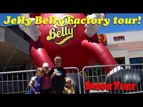Snook Family trip to the Jelly Belly Factory