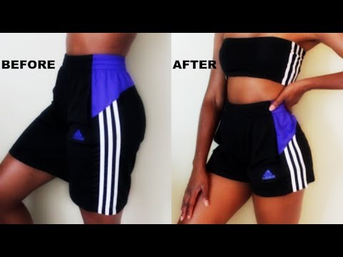 DIY ADIDAS Two-Piece Outfit in FIVE MINUTES!!!