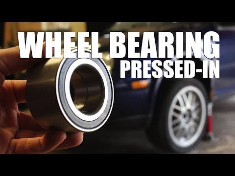 How to Replace a Wheel Bearing (Press-In Bearing)