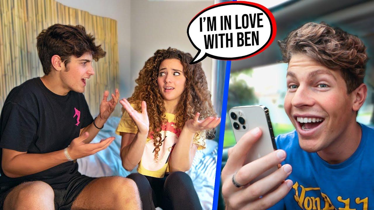 Ben Azelart Controls What I Say with Hidden Camera!!