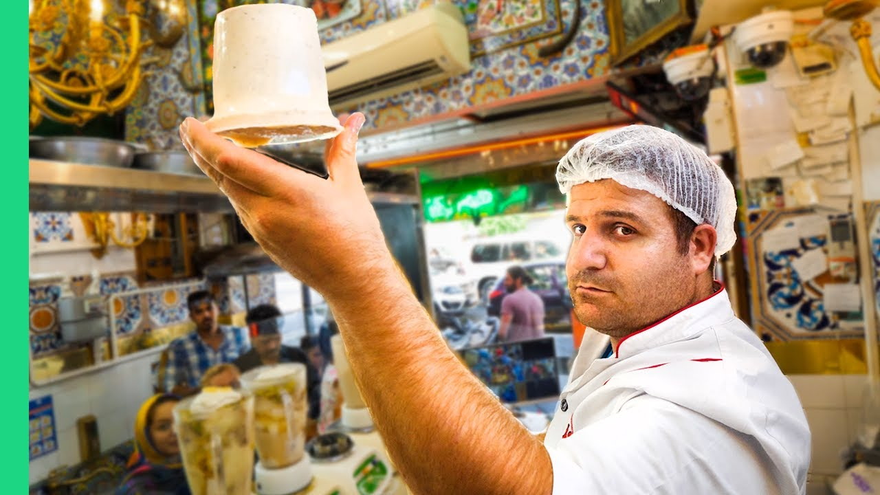 Street Food in Iran!!! AND What People in Iran are Really Like!!!