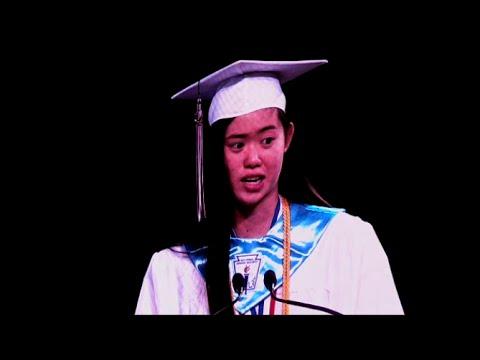 BEST CHS Valedictorian Graduation Speech - Inspirational, motivational
