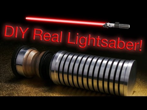 How To Make A Real Lightsaber Handle!