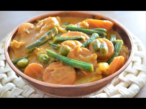 Restaurant Style Mixed Vegetable Korma | Without Garlic & Onion |  By Neetu Suresh