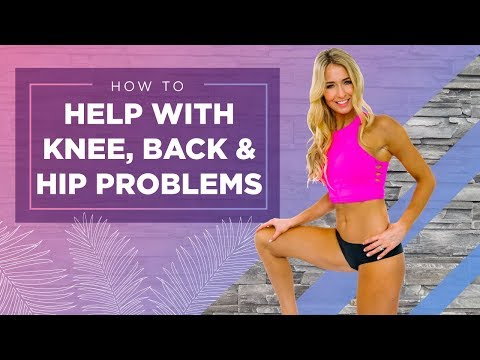 How to Help with Knee, Back, and Hip Problems