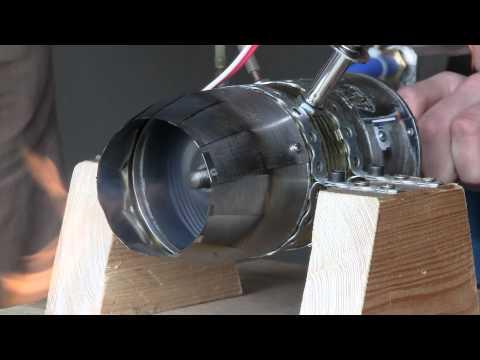 Self Made Jet Engine : 3. Testrun