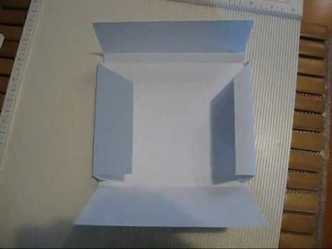 {By Request} How I make my envelopes for dimensional cards