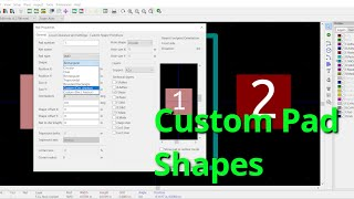 Complex Footprint With Custom Pad Shapes - PakVim net HD