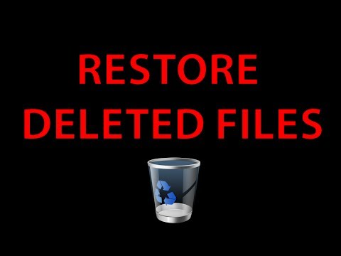 How to restore deleted recycle bin files (tutorial)