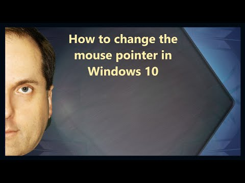 How to change the mouse pointer in Windows 10