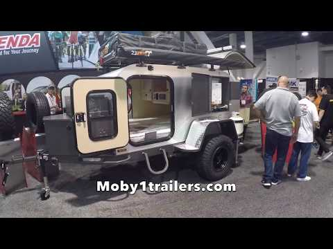 Off Road Teardrop Trailer by Moby1trailer at SEMA 2017
