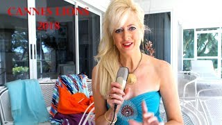 Beautiful Executive/anchor Sandra Rupp Asks Ad Ceos & Tony Robbins What To Wear To Cannes Lions