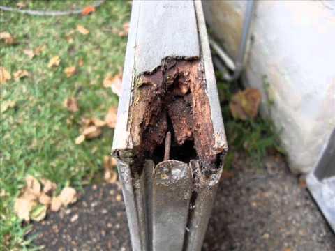 Rotten door repair