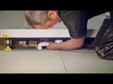 NEW - Coram Riser Shower Tray Installation Guide