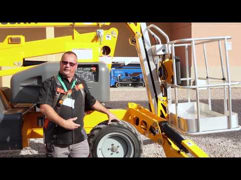 Product Review: Haulotte 55XA Articulating Boom Lift